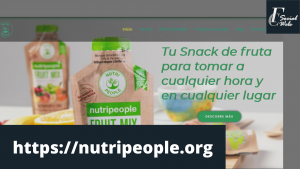 Pagina web Nutripeople