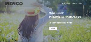 Pagina web de Moda
